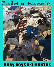 REDUCED***Baby Boys Bundles Age 0-3 Months INC Joules Next Levis Ted baker