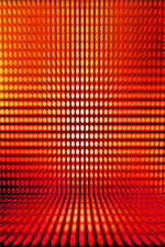 Abstract Dense Red Dot Visual Studio Backdrop Photography Background 5x7FT