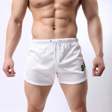 Fashion Mens Casual Shorts Pants Breathable Gym Home Wear Sports Trousers Trunks