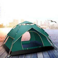 Family Automatic Camping Hiking Instant Tent Single/Double Layer Beach Shelter