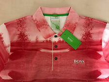 MEN'S HUGO BOSS BY MARTIN KAYMER GREEN LABEL POLO SHIRT,size-3XL/XXXL,XXL/2XL.