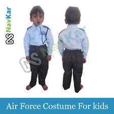 Indian Airforce Pilot Fancy Dress Costume for Kids