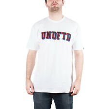 UNDEFEATED UNDFTD BLOCK TEE SHIRT WHITE 5190260-WHITE