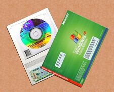 NEW Microsoft Windows XP Home Edition + SP3, COA & Product Key -- Full Version