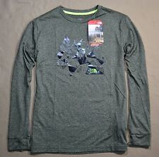 NWT BOYS YOUTH THE NORTH FACE B LS REAXION TEE CREW NECK T SHIRT SZ 5 6 L