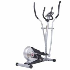 Body Champ BR2508 Magnetic Elliptical Trainer with Heart Rate Technology