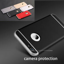 360° Full Body Hybrid Hard Case Cover + Tempered Glass For iPhone 6 6S 7 7 Plus