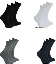 12 GIRLS BOYS UNISEX CHILDRENS KIDS PLAIN COTTON MIX ANKLE SOCKS BACK TO SCHOOL