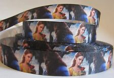 """GROSGRAIN BELLE BEAUTY AND THE BEAST DISNEY PRINCESS 7/8"""" RIBBON 1, 3 or 5 YARDS"""