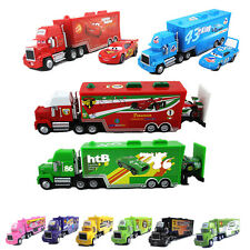 Disney Pixar Cars No.95 86 51 Mack Hauler Truck+Racers King Chick Hicks Cars Toy