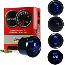"2"" 52mm Car Digital LED Oil Pressure/Oil Temp/Boost/Tacho/Water Temp Gauges Kit"