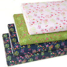 Japanese Kokka Quilting Cloth Fabric for sewing Cotton Fabric Flower By 1/2 yard