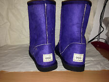 Size 3 Short Purple Pull Up Ugg Boots Youth