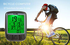 Bike Cycling Speedometer Bicycle Waterproof Lcd Computer Training Cycle Odometer