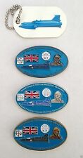 DONALD CAMPBELL COMMEMORATIVE GEOCOIN SET WITH TRACKABLE GT TAG & PROXY