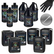 VARIOUS SIZES HYDRODYNAMIC IONIC GROW BLOOM PK BOOST NUTRIENTS + GLOVES PIPETTE