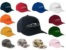 1973 1974 Plymouth Road Runner Classic Color Outline Design Hat Cap NEW