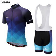 Bike Clothing Set Men's Ropa Ciclismo Cycling Jersey&Padded Cycling (Bib) Shorts