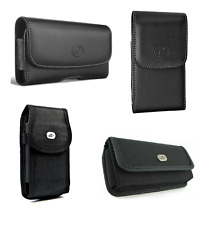 "Pouch for Apple iPhone 4S, 4, 3GS or 3G (3.5"") phone with a protective case on"