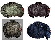 Alpha Industries CWU 45 Jacket Bomber Aviator various Colors All Sizes 100102