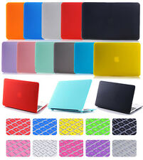 "2in1 Rubberized Matte Hard Case Protective Skin Shell for MacBook White 13""A1342"