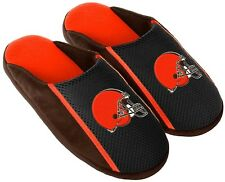 Cleveland Browns NFL Mens Jersey Slide Slipper Adult Sizes