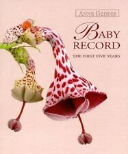Anne Geddes Baby's Record Book The First Five Years Memory Keepsake Book Album