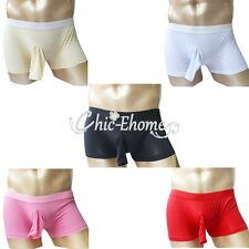 Men String Trunk Underpant Boxer Brief Short Thong Bulge Pouch Stretch Underwear
