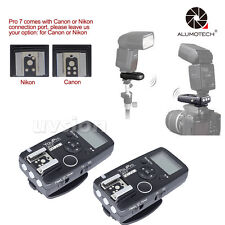 Wired/Wireless Timer Transmitter Receiver Remote Shutter Release For Canon/Nikon