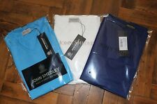 John Smedley Mens 100% Sea Island Cotton BRAEDON T Shirt BNWT RRP £105