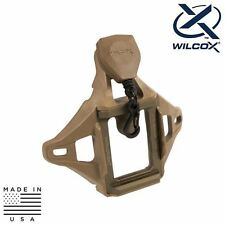Wilcox 56100G35 3-Hole Helmet Shroud & Lanyard Assembly - MICH/ACH & PASGT/LWH