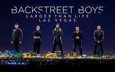 BACKSTREET BOYS VEGAS POSTER A - VARIOUS SIZES + FREE SURPRISE A3 POSTER