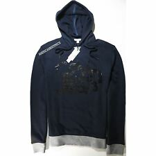 CALVIN KLEIN JEANS NEW MENS PULLOVER LOGO HOODIE/JACKET BLUE NWT RETAIL $79.50