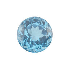 Brazilian Swiss Blue Topaz AA Quality 2.25 mm Faceted Round Loose gemstone