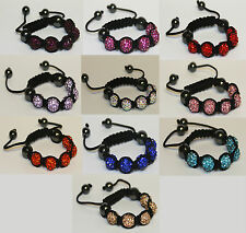 SHAMBALLA BRACELETS BOYS OR GIRLS FOR YOUNG CHILDREN DIFFERENT COLOURS UK SELLER