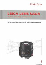 Leica Lens Saga by Erwin Puts - NEW October 2016