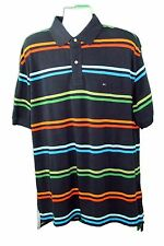 NWT$60 Navy Blue Tommy Hilfiger Mens Polo Shirt Short Sleeve