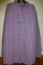 Croft & Barrow Easy Care Woven Long Sleeve Casual Shirt 3XLT 4XB NEW