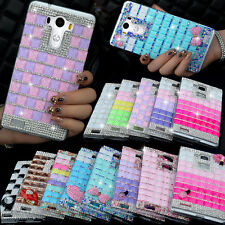 Fashion Bling Rhinestone Crystal Diamond Hard Case Cover For LG Optimus G2 G3