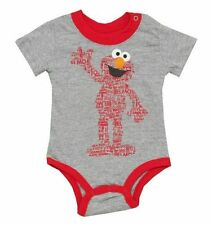 Sesame Street Elmo Boy's Creeper 3-6 Months 6-9 Months Bodysuit One Piece
