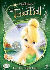 DISNEY TINKERBELL ALL-NEW MOVIE DVD  BRAND NEW IN SEALED BOX