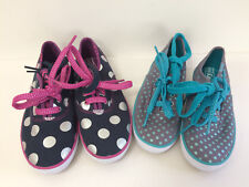 New Keds Girls Champion CVO Shoes Grey Turquoise Navy Pink 6/7.5/8.5/9.5/12.5/2
