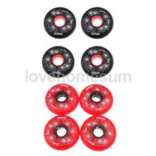 4Pcs PU Replacement Wheels for Inline Roller Hockey Skate Shoes 84A 72-80mm