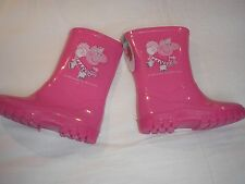 PEPPA PIG WELLINGTON BOOTS SIZE 8,9 END OF LINE ;