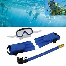 Snorkel Scuba Diving Set Divers Snorkeling Gear Fins Mask Tube Swim Equipment