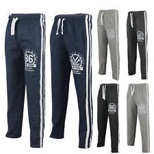 Mens Tracksuit Jogging Bottoms NYC Fleece Joggers Sports Active Gym Sweat Pants
