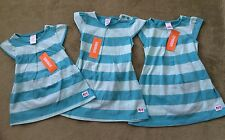 NWT Gymboree Baby Girls PLAY Blue Stripes 2 PC SET Shirt Top Shorts 6-24m 2T