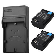 7.4V LP-E6 Battery + USB Charger for Canon EOS 5DS Mark II Mark III 70D