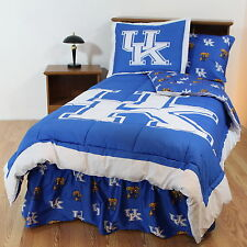 Kentucky Wildcats Bed in a Bag & Valance Twin Full Queen King Comforter Set CC