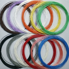 0.7mm Silver Plated Teflon Wire Cable 5M
